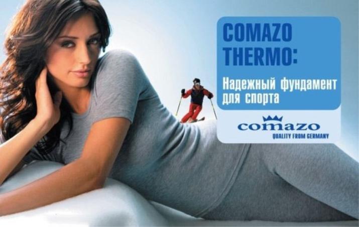 Comazo (40 фото) білизна, термобілизна, жіночі труси, бриджі та футболка з поліестеру, а також лонгслив, відгуки