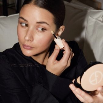 Косметика Giorgio Armani: огляд декоративної косметики, плюси і мінуси, вибір