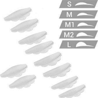 Валики для ламінування вій: як правильно підібрати розмір силіконових бігудей, як користуватися