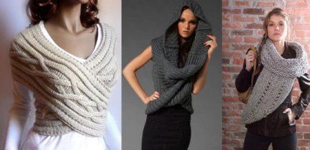 Як зав'язати шарф-снуд (65 фото): варіанти зав'язування шарфа-вісімки, шарфа-труби або круглого на шию красиво і правильно